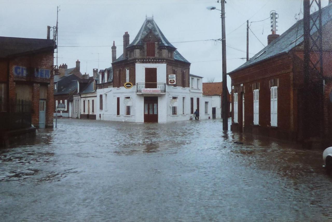 Inondation rue Jules Verne