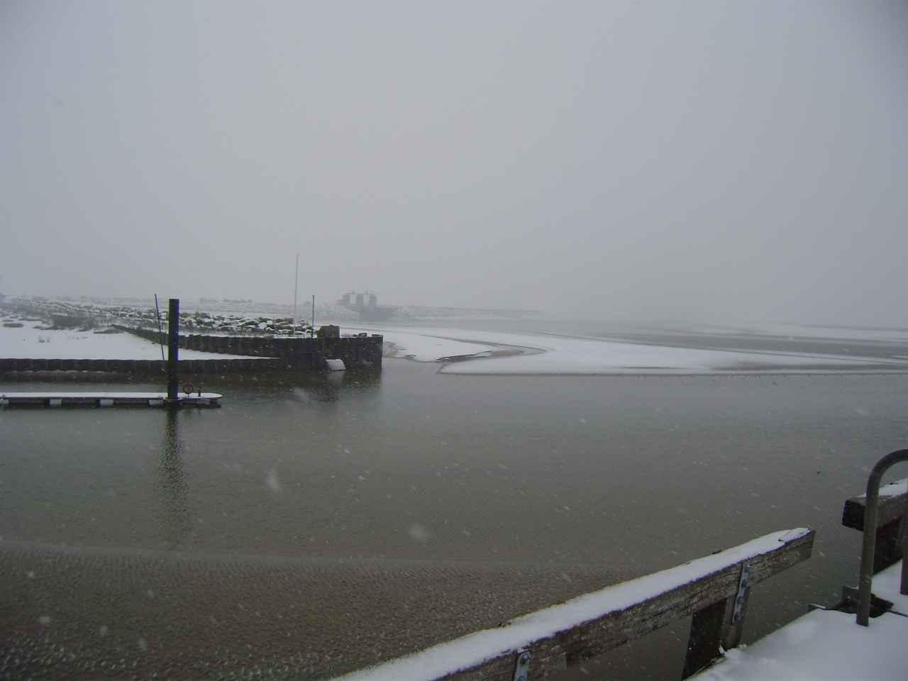 La Baie de Somme en hiver janvier 2013