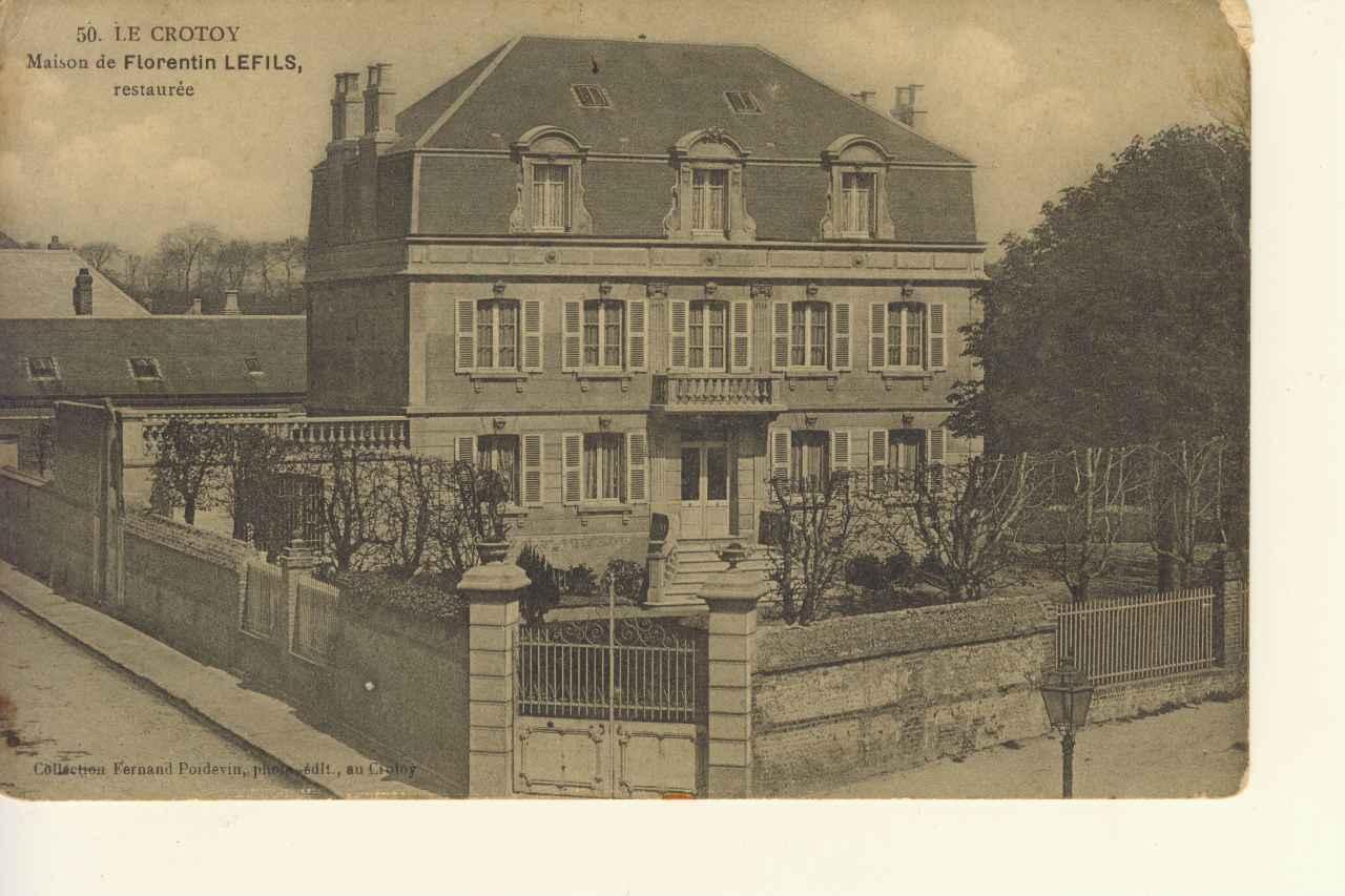 La Maison de Florentin Lefils, historien du Crotoy
