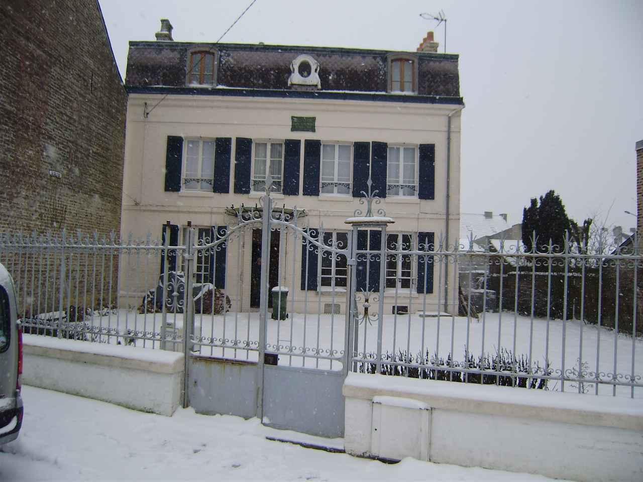 La maison Jules Verne en hiver janvier 2013