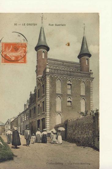 La villa des Tourelles construite vers 1900