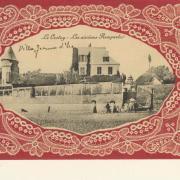 La villa Jeanne d'Arc, à côté du calvaire