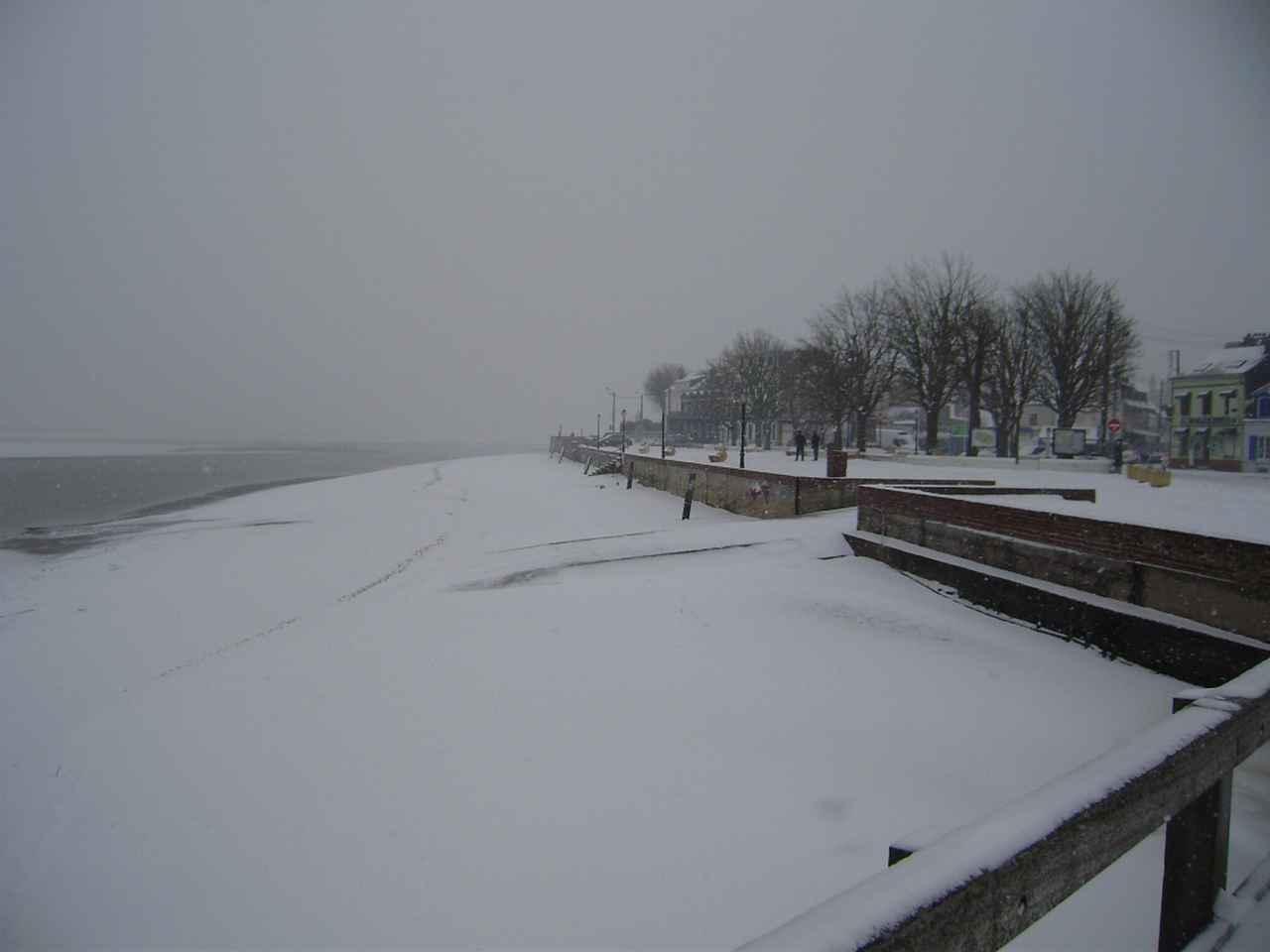 Place Jeanne d'Arc sous la neige janvier 2013