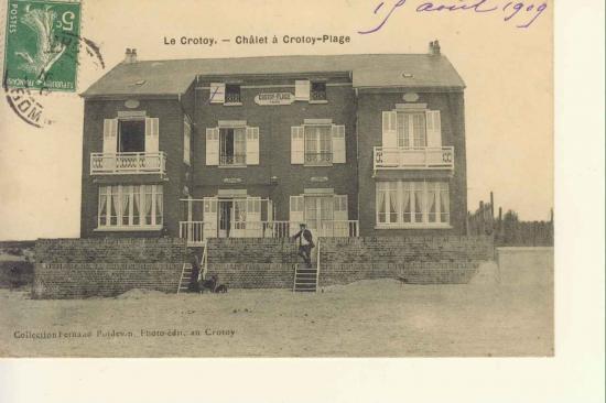 Villa Belle plage résidence de Colette entre 1907 et 1910