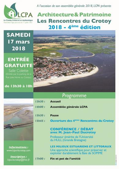 Affiche lcpa ag 2018